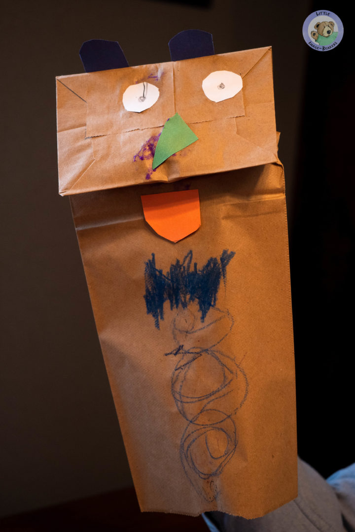 Create your own paper bag puppet craft and design it any way you want, just like God designed you. Tune in to Little Image-Bearers to see this craft and more!